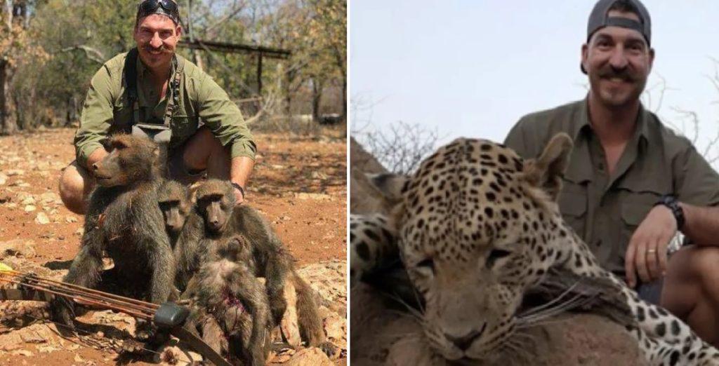 Κυνηγός σκότωσε δεκάδες άγρια ζώα στην Αφρική για να βγάλει σέλφι και έχει προκαλέσει παγκόσμια οργή